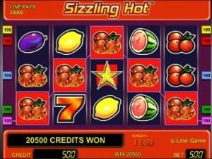 sizzling hot online spielen